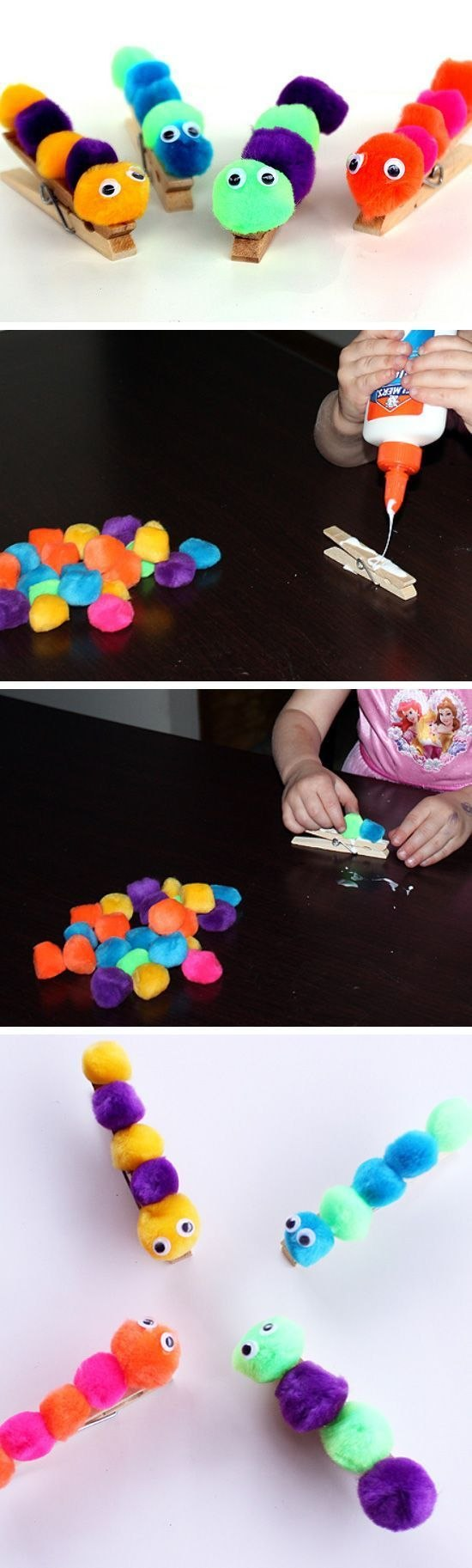 Caterpillar DIY Craft