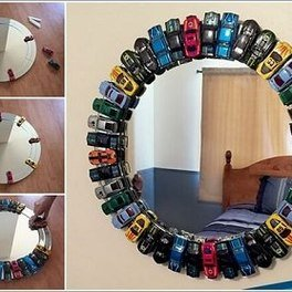 DIY Kid's Mirror