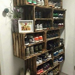 Crates Shoes Closet
