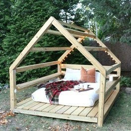 DIY Outdoor Cabana