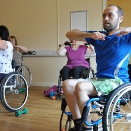 How to Exercise with Disabled or Weak Legs