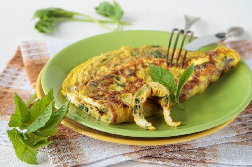 Herbs Omelette