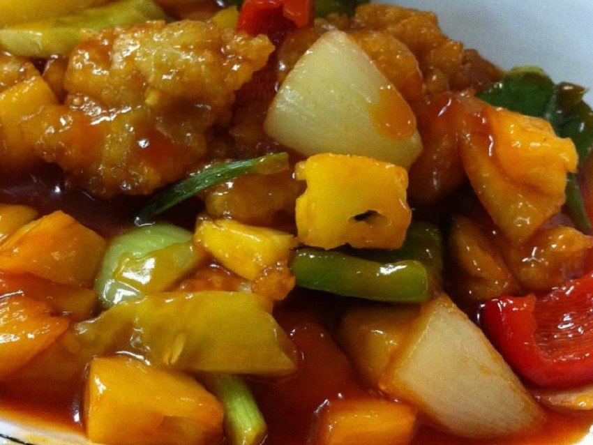 Fish in Sweet and Sour Sauce