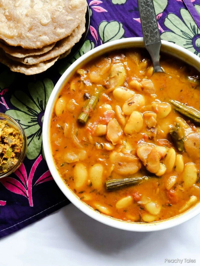 Lima Beans & Tripes Curry